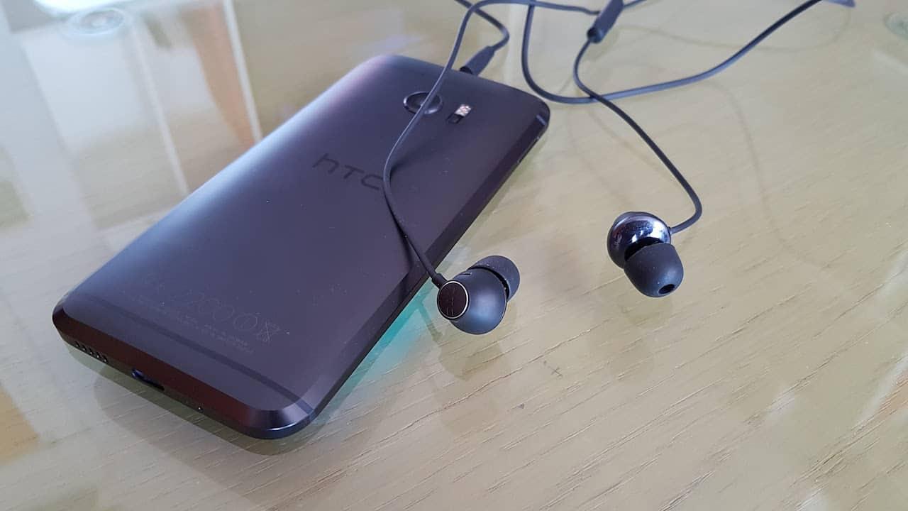 HTC 10 le cuffie