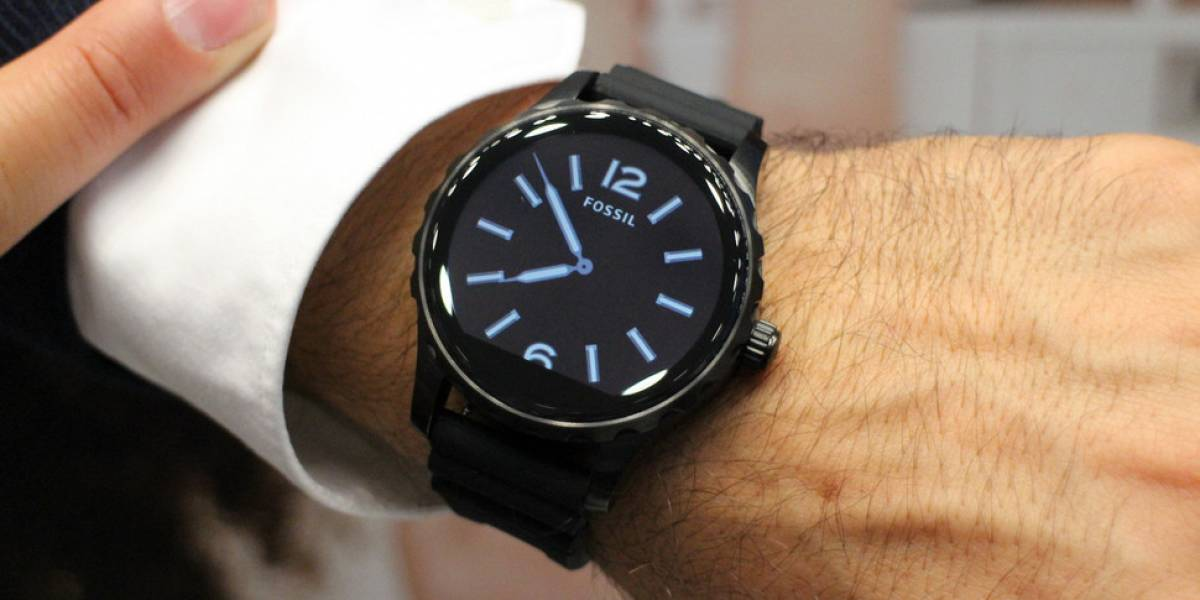 smartwatch fossil nuovo wearOS