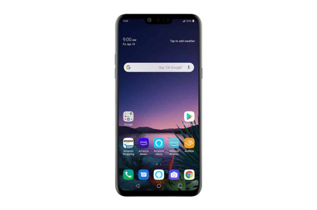 Android 10 LG G8s