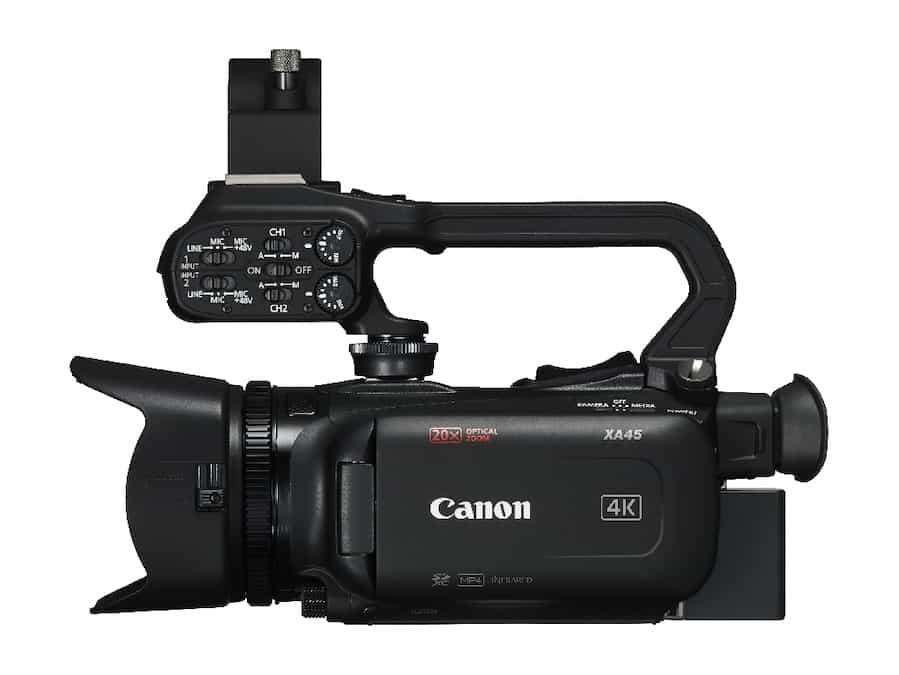 specifiche tecniche Canon XA45-mistergadget-tech