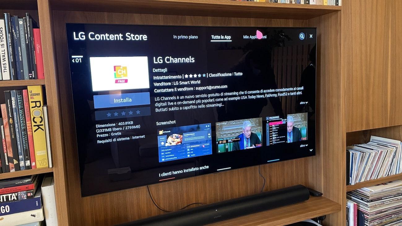 Recensione LG TV OLED CX55