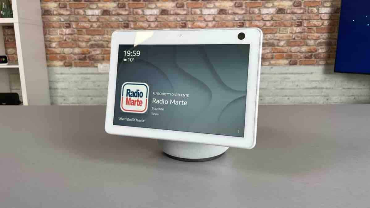 nuovo amazon echo show