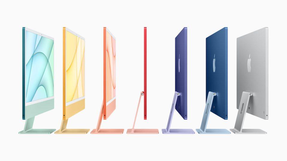 nuovi Apple iMac