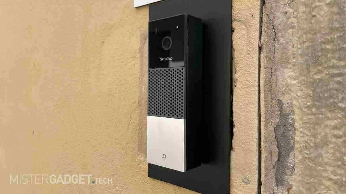 Recensione Netatmo Smart Video Doorbell, il campanello intelligente