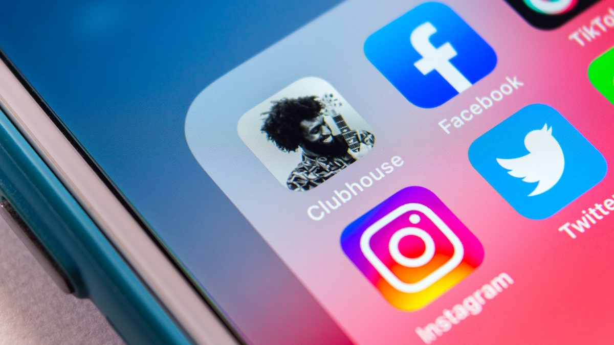 Instagram Twitter e Facebook insieme a Clubhouse