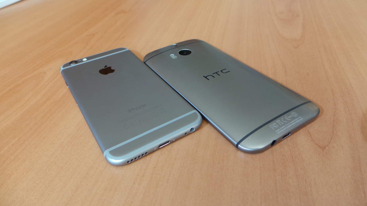 htc one m8 vs iphone 6 un altra sfida htc one m8 vs iphone 6 mister gadget 174 6974