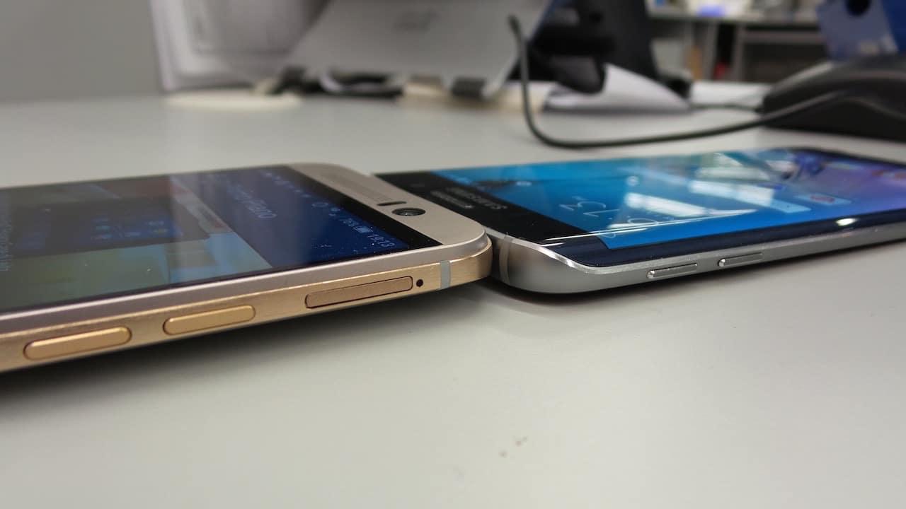 HTC ONE M9 vs Galaxy S6 Edge: le foto
