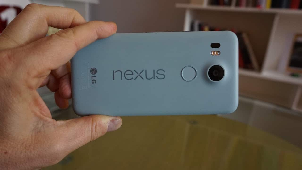 Nexus 5X la fotocamera