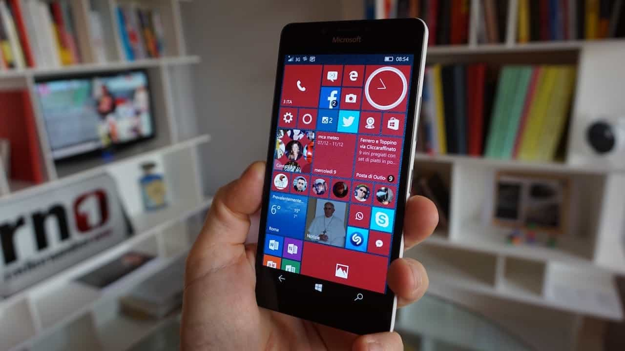 Nokia Lumia 950 - interfaccia