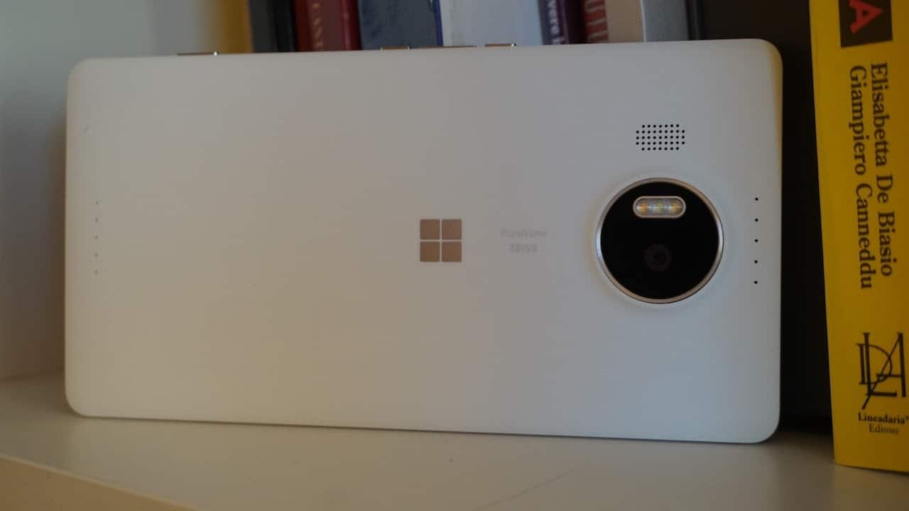 Microsoft Lumia 950XL - the rear camera