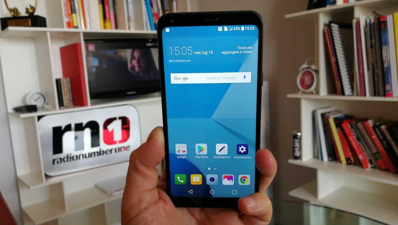 LG Q6 video hands on, full display per tutti!