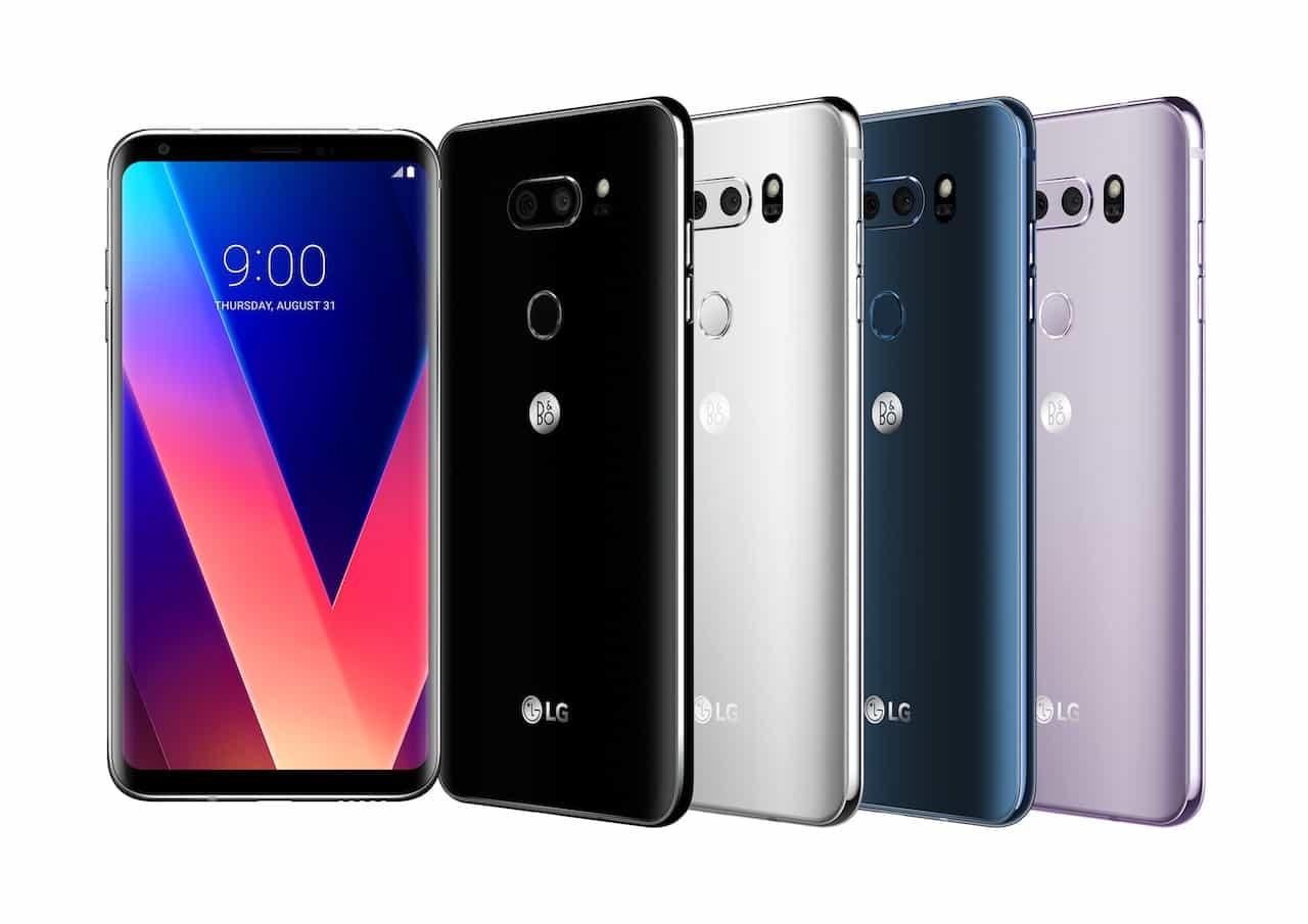 IFA 2017: LG V30 è ufficiale, fullvision display e focale F/1.6
