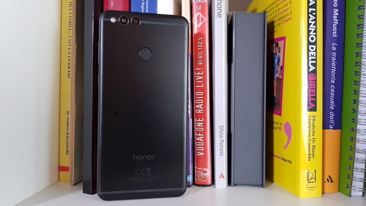 Honor 7X unboxing
