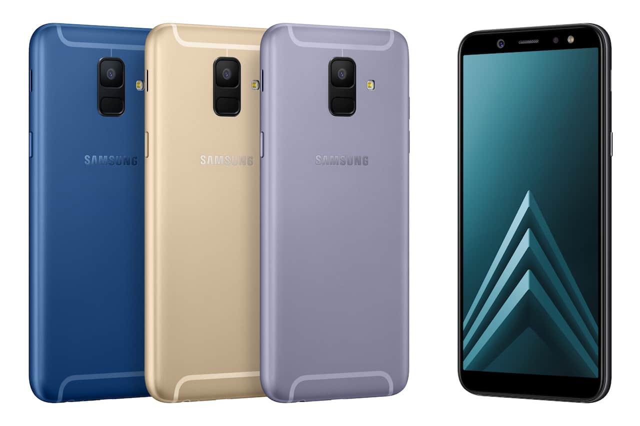 Samsung Galaxy A6 e A6+ presto sul mercato a 300 euro