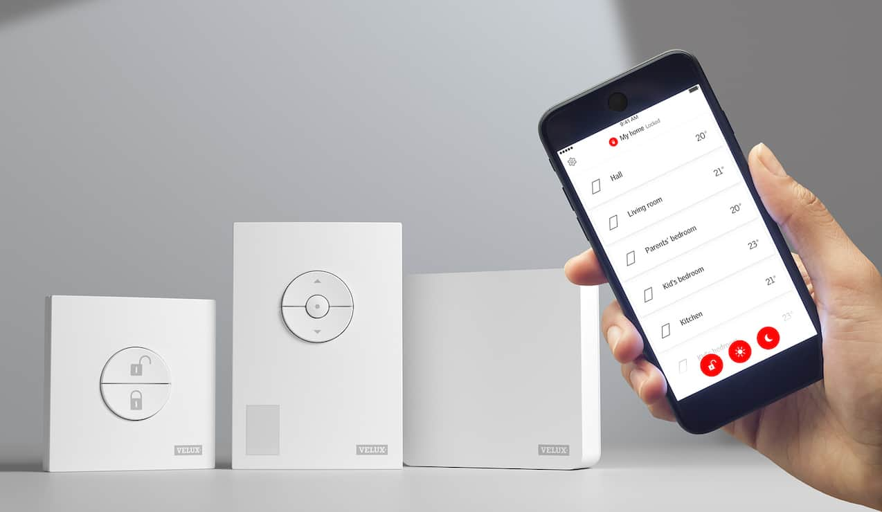Velux e Netatmo presentano le Smart Windows Velux Active