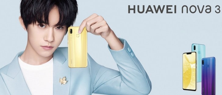 Huawei Nova 3 svelato una settimana prima del lancio