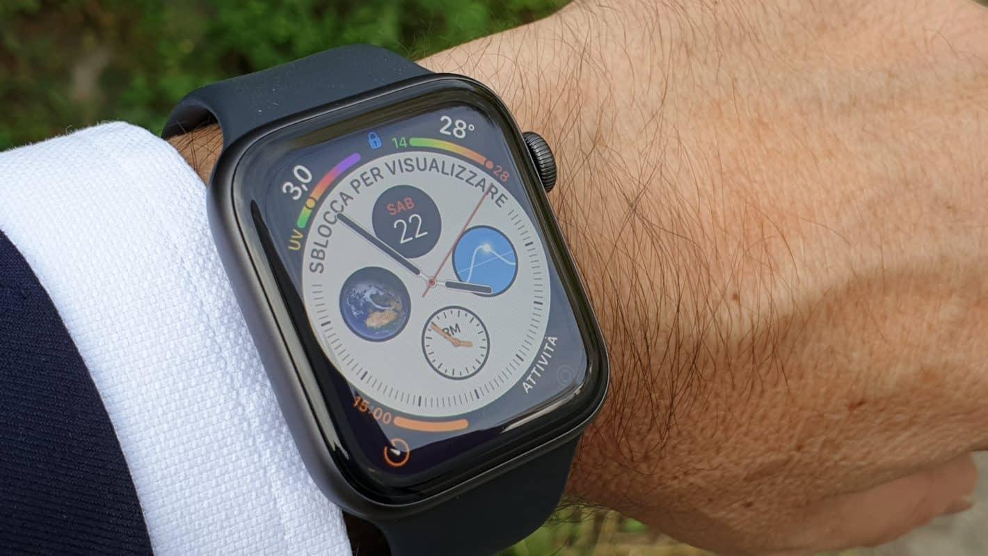 Il mio primo giorno con Apple Watch 4