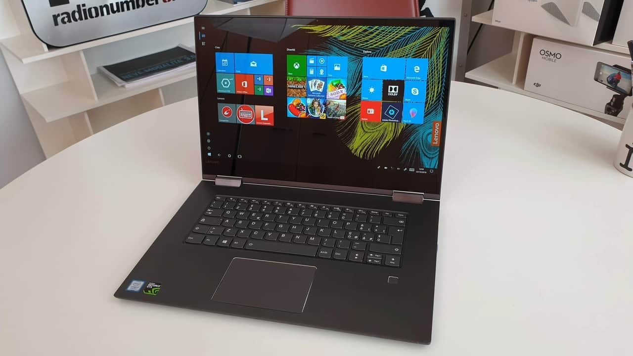 Recensione Lenovo Yoga 730, completo ma accessibile