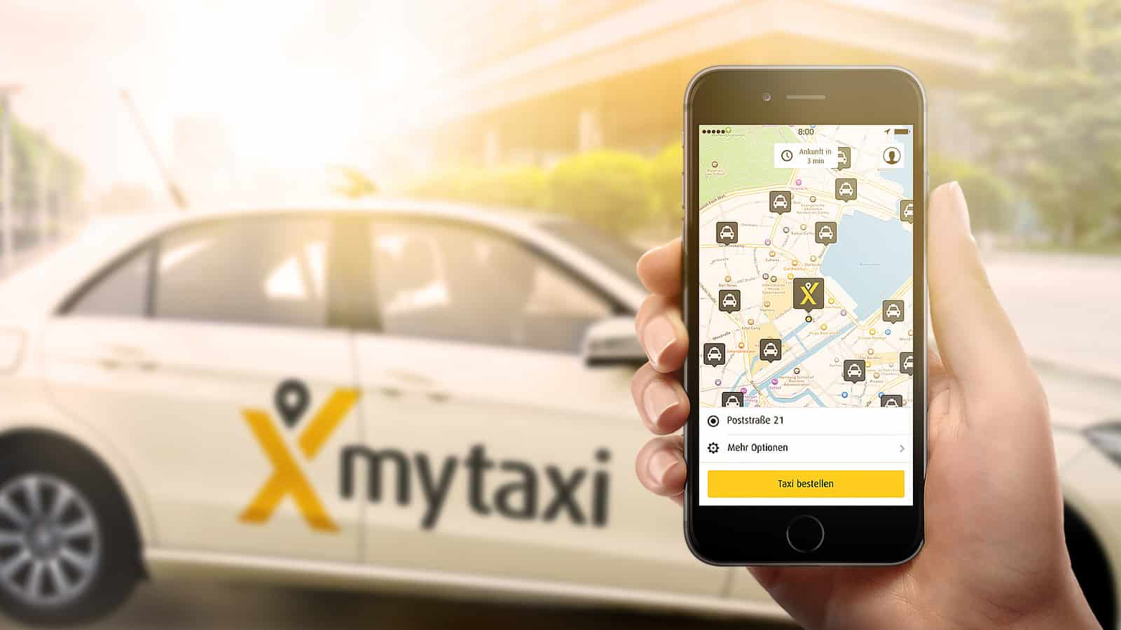 Da oggi MyTaxi si paga anche con Apple Pay