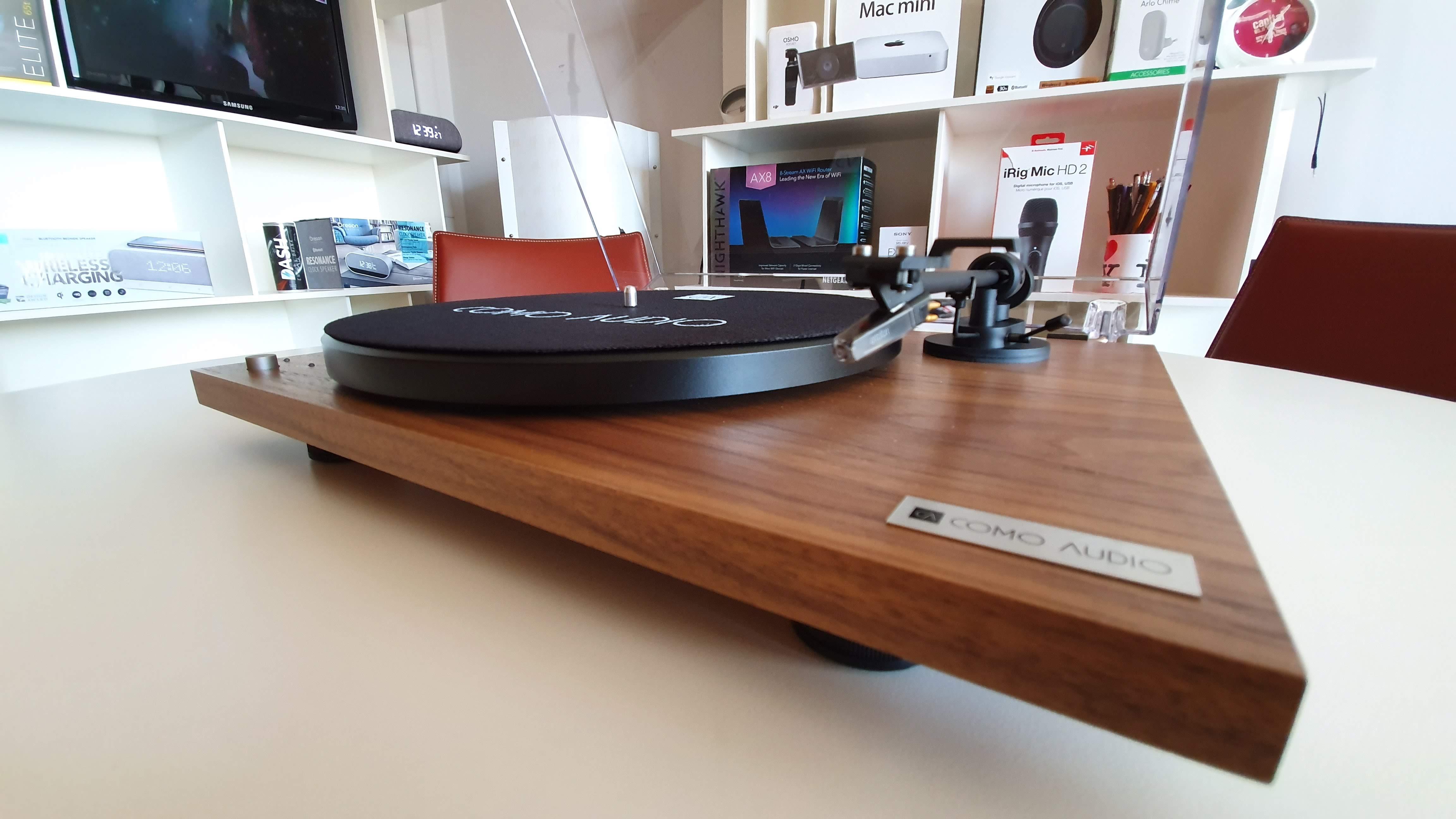 Recensione Como Audio Turntable