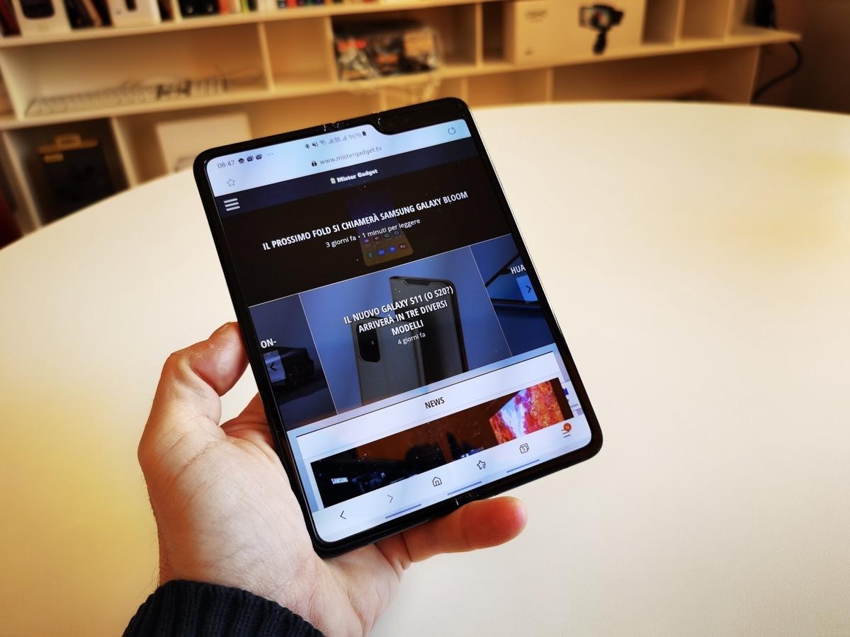 Pro e contro Samsung Galaxy Fold