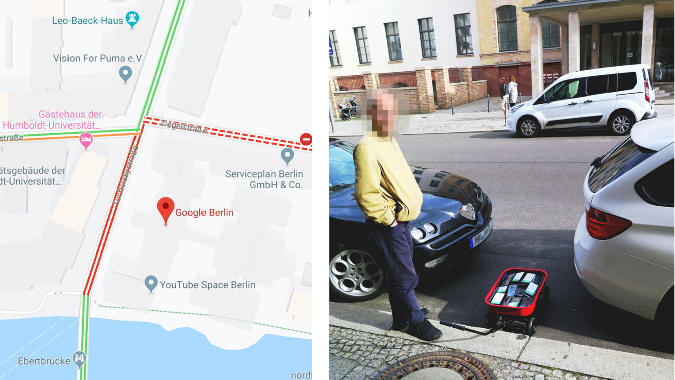 Ingannare Google Maps