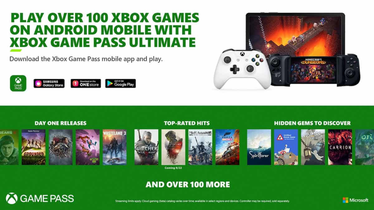 xbox game pass ultimate titoli